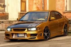 Обвес кузова аэродинамический. Mitsubishi Galant. Под заказ