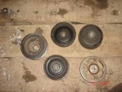 Продам набор шкив и разрезные шестерни с двигателя на субару. Subaru Forester, SF5 Двигатель EJ20