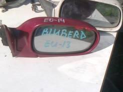 Зеркало заднего вида боковое. Nissan Bluebird, EU13