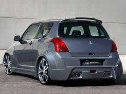 Обвес кузова аэродинамический. Suzuki Swift