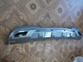Накладка на бампер. Hyundai Grand Starex