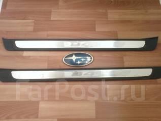 Накладка на порог. Subaru Legacy B4, BL5