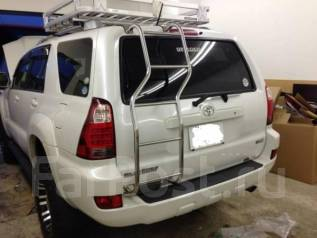 Зеркало двери багажника. Toyota Hilux Surf, KDN215, RZN215, VZN215