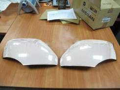 Накладки на зеркала а/м Infiniti Qx56 2010-2013 белого цвета