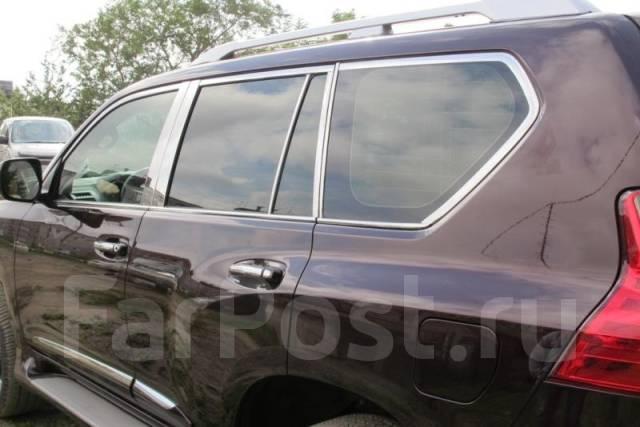 Накладка на ручки дверей. Toyota Land Cruiser Prado