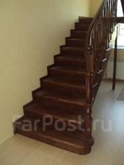 Лестницы из ясеня и дуба, а так же различные изделия из дерева