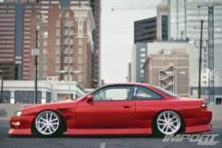 Порог пластиковый. Nissan 240SX Nissan Silvia, S14 Nissan 200SX