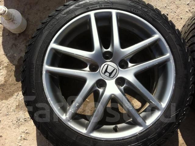 Продам сток диски R17 Honda Accord с резиной. x17