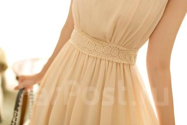 Платье нежное из шифона
