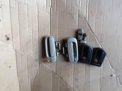 Ручка двери внешняя. Toyota Carina, AT211 Двигатель 7AFE. Под заказ