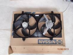 Вентилятор охлаждения радиатора. Nissan Primera, P12E Двигатель QG18DE