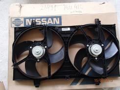 Вентилятор охлаждения радиатора. Nissan Primera, P12E Nissan Almera, N16E Двигатели: QG18DE, QG16DE, QG15DE