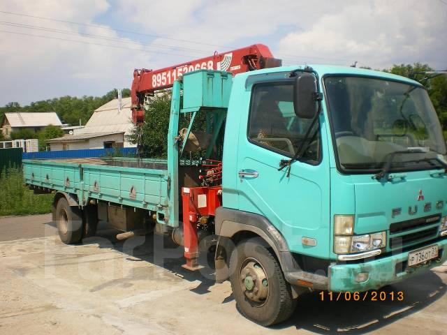 Mitsubishi Fuso Fighter. Продам грузовик Mitsibishi Fuso 2003 г. с манипулятором., 8 200 куб. см., 6 000 кг.