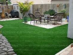 Газон, газонная трава.