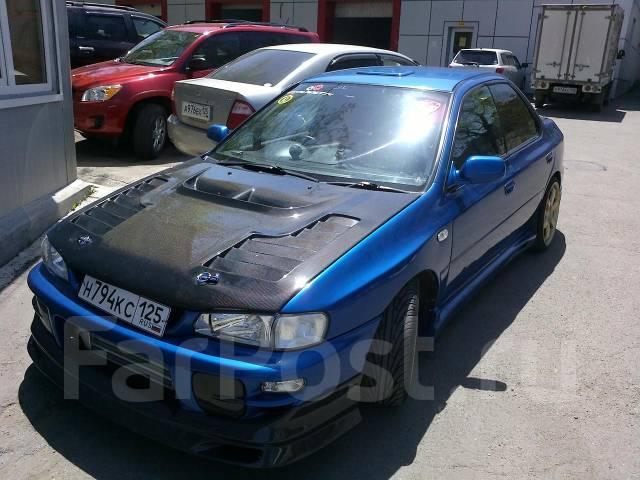 Крыло. Subaru Impreza WRX, GF8, GF8LD3, GC8, GC8LD3 Subaru Impreza WRX STI, GC8, GF8