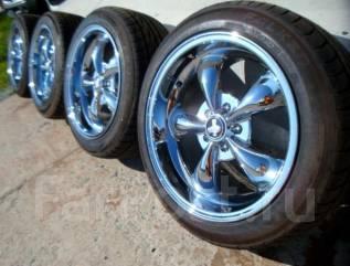 Новые шины Falken на стильных хромированных дисках 255/45R18!. 10.0x18 5x114.30 ЦО 70,0мм.
