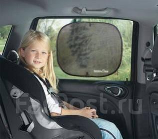 Солнцезащитные шторки в автомобиль.