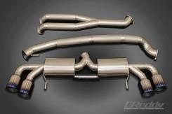 Выхлопная система. Nissan GT-R, R35