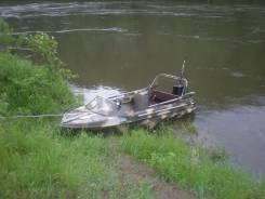 """Продам моторную лодку """" Неман"""". двигатель подвесной, бензин"""