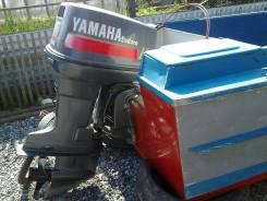 Катер амур. двигатель подвесной, бензин