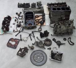 Крепление компрессора кондиционера. Nissan Presage Двигатель KA24DE