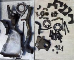 Защита выпускного коллектора. Toyota Sprinter Carib, AE95 Двигатель 4AFHE