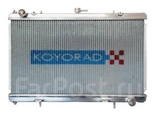 Радиатор охлаждения двигателя. Subaru Impreza, GDA, GDB