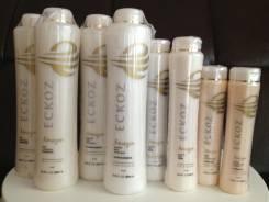 Кератиновое выпрямление волос Eckoz от 2000 рублей