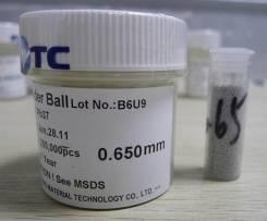 Шары BGA 0,65мм - 25000 Sn63Pb37(припой шарики)