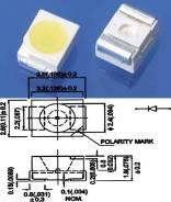 Светодиоды LED SMD 3528 Красный (комплект 100 штук)