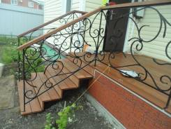 Двери. ворота гаражные . откатные. заборы. лестницы. решётки. ремонт