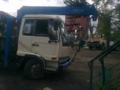 Nissan Diesel. Продаётся отличный грузовик с крановой установкой, 6 900 куб. см., 5 000 кг.