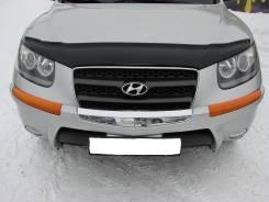 Защита бампера. Hyundai Santa Fe