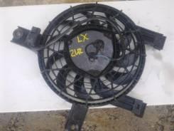 Вентилятор радиатора кондиционера. Toyota Land Cruiser, UZJ100 Двигатель 2UZFE