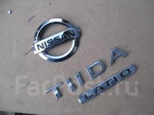 Эмблема. Nissan Tiida. Под заказ
