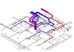 Проектирование и монтаж вентиляции и кондиционирования в Magicad