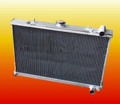 Радиатор охлаждения двигателя. Nissan Silvia, S13 Nissan Skyline Nissan 200SX Nissan 180SX Двигатели: SR20DET, RB20DET, RB25DET