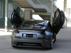 Nissan 350Z Havoc WIDE Задние накладки на крылья. Отправка.