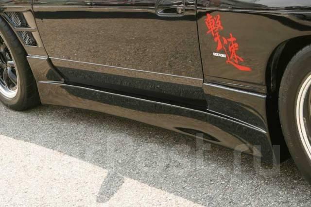 Порог пластиковый. Nissan 180SX