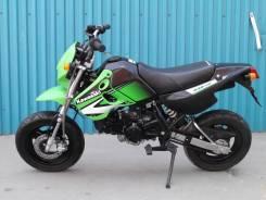 Kawasaki KSR110. 110 куб. см., исправен, птс, без пробега