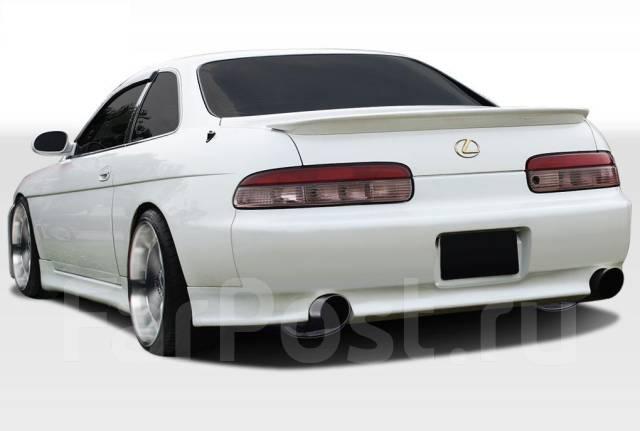 Порог пластиковый. Toyota Soarer
