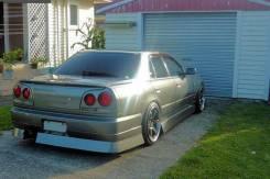 Nissan Skyline R34 4dr URAS Задний бампер. Отправка.