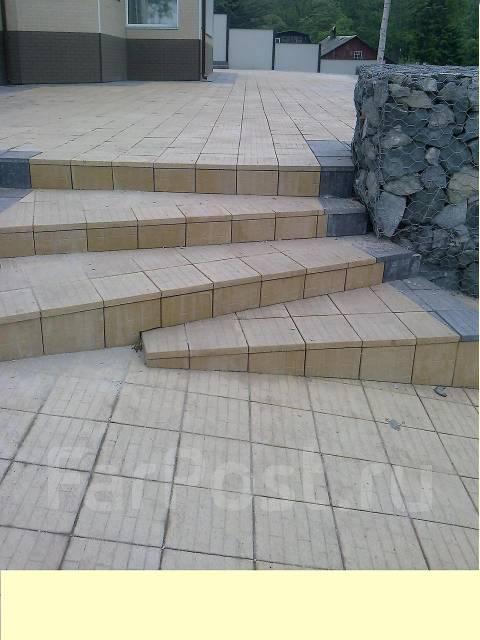 Тротуарная плитка, брусчатка, стеновой камень!. Под заказ