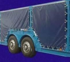 Тент боковой бортовой ПВХ на автовоз