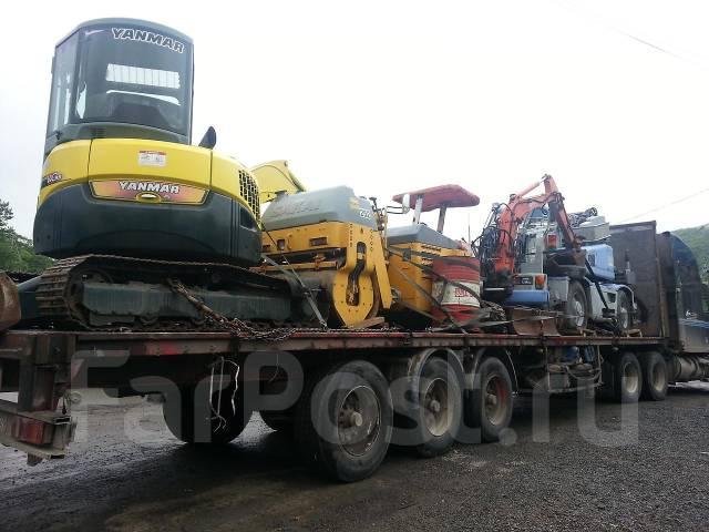 Отправка Катеров, спецтехники, крупногабаритных грузов по России