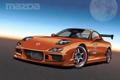 Обвес кузова аэродинамический. Mazda Efini RX-7, FD3S Mazda RX-7, FD3S