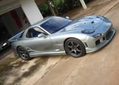 Порог пластиковый. Mazda Efini RX-7, FD3S Mazda RX-7, FD3S