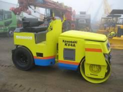 Kawasaki. Каток дорожный вибрационный KV4A
