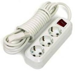 Удлинители с выключателем.