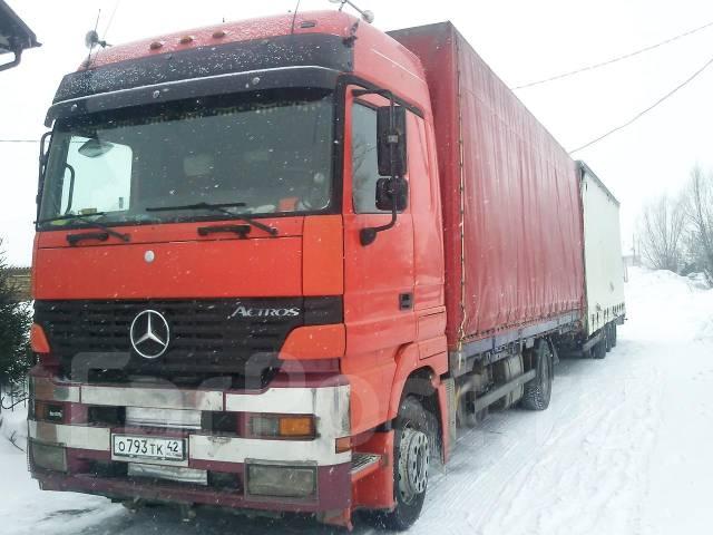 Mercedes-Benz. Мерседес Бенц (Актрос) 1835, 11 000 куб. см., 20 000 кг.